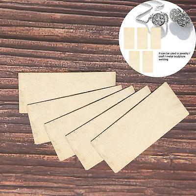 65% Silver Solder Plate Quality Jewellery Soldering Pieces Welding Blade Tools