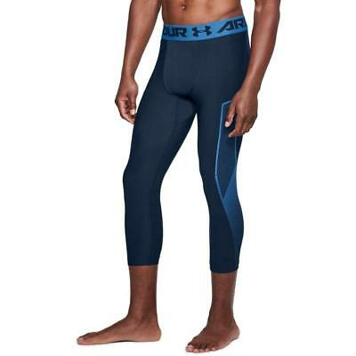 d95ceee7058bf Under Armour Men's HeatGear Armour Graphic ¾ Leggings XL 1309925 E23