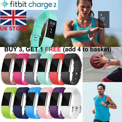 UK Fitbit Charge 2 Wrist Straps Wristbands Best Replacement Accessory Watch Band