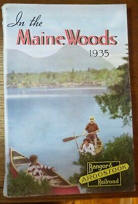 In The Maine Woods 1935 Magazine