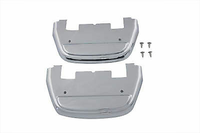 Harley touring ultra softail passenger footboard floorboard cover covers kit