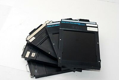 Lot of 5 Toyo Film Holder size 4x5 CUT FILM HOLDER