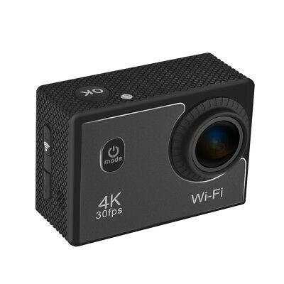 4K 16MP WiFi Sports Action Camera Ultra HD Waterproof 98ft 2inch LCD 140° G7Y5
