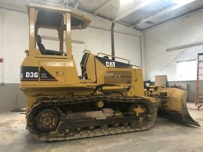 2003 Caterpillar D3G XL Crawler Dozer Cat Diesel Track Tractor D3 Long Track