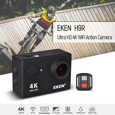 EKEN H9R Ultra HD 4K Action Camera WiFi Control Waterproof Sports Camera P9S0