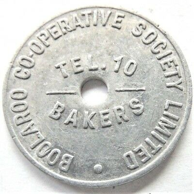 ND BREAD TOKEN, N.S.W. Boolaroo Cooperative Society, One Loaf.