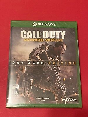 Call of Duty: Advanced Warfare Day Zero Edition (Microsoft Xbox One, 2014) - NEW