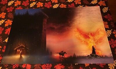 Bear and the Nightingale Girl in the Tower Winter of the Witch NYCC Poster Art