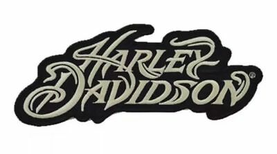 Harley Motorcycle Patch Sew On Iron On Large Patch