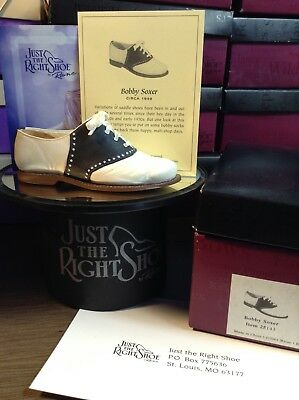 Just The Right Shoe by Raine! Signed by Raine! Bobby Soxer #25143
