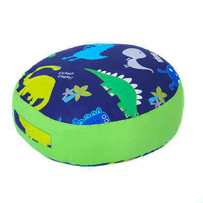 Dino Print Children's Large Floor Cushion Soft Filled Giant Play Seat Pillow
