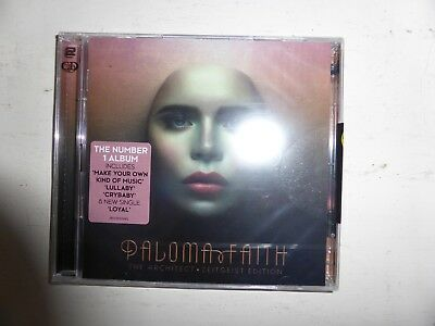 Paloma Faith The Architect Zeitgeist Edition 2 disc CD album BRAND NEW SEALED