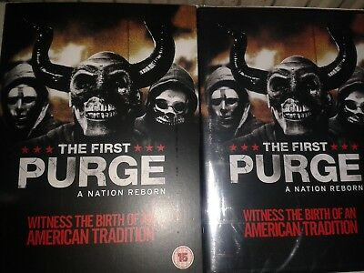 The first purge dvd new and sealed