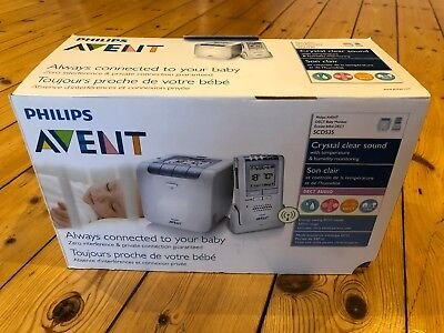 Philips Avent Baby Monitor SCD535 Boxed with all accessories