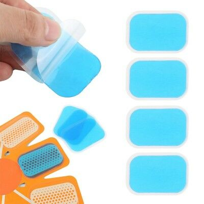 10PC Remplacement Gel Sheet Pad for EMS Muscle Entra?nement Gear ABS Fitness BA