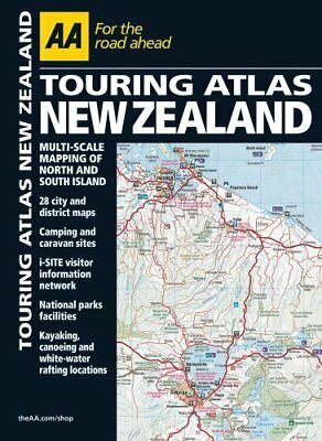Road Atlas New Zealand (Aa Road Atlas) by AA Publishing Book The Cheap Fast Free