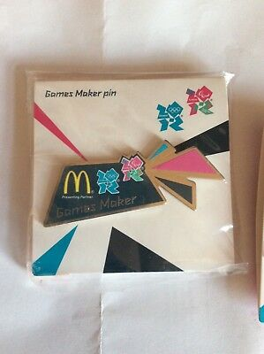 London Olympic Games 2012 Multicoloured Games Maker Pin