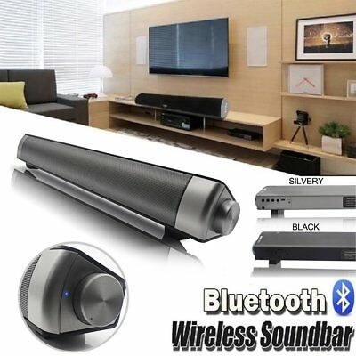 Altavoz Bluetooth Inalámbrico Portátil Subwoofer incorporado para TV Casa Bar