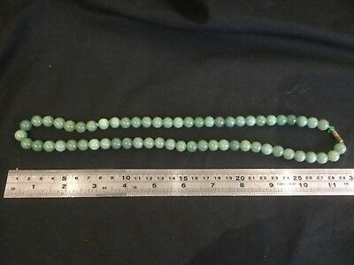Chinese Carved Jade /  Hardstone  Necklace (2)