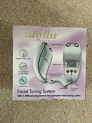 Babyliss Professional Facial Toning System (egg) (like NuFace) microcurrent