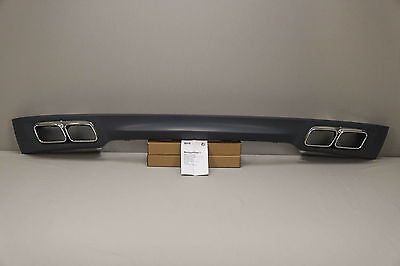 2f98c811e11c New Genuine BMW F01 F02 7 series rear M diffuser with exhaust tips