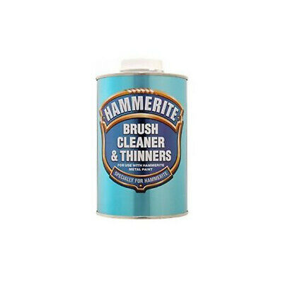 Hammerite Brush Cleaner & Thinners 1L For Use With Hammerite Metal Paint
