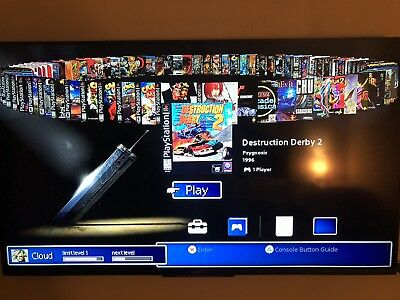 PlayStation Classic Modded 64gb USB Stick With 100 Top Games
