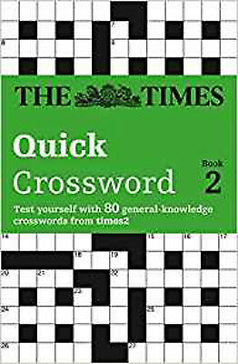The Times Quick Crossword Book 2: Bk.2, New, Times2, The Times Mind Games Book