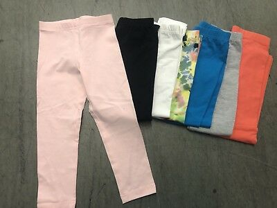 57Pc Lot New American Apparel Girls Leggings Sizes 2-12 Asst Colors