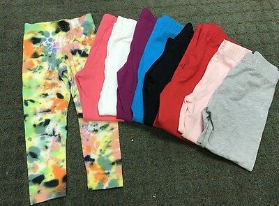 55 Pc Lot New Girls American Apparel Leggings Sz 2-12 Liquidation!!!