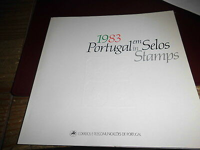 599449/ Portugal Themenbuch 1983 Selos Stamps