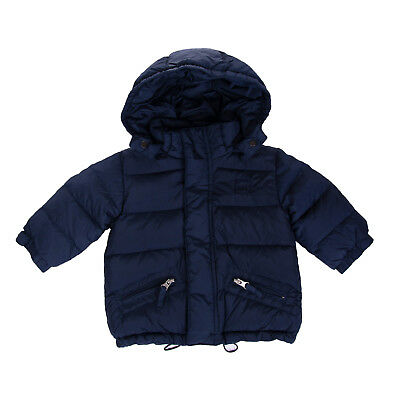 ADD Down Quilted Jacket Size 6M Detachable Hood Drawcord Hem Funnel Neck RRP€320