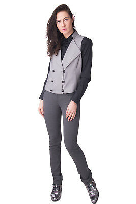 EMPORIO ARMANI Waistcoat Size 44 / L Double Breasted Made in Italy RRP €399