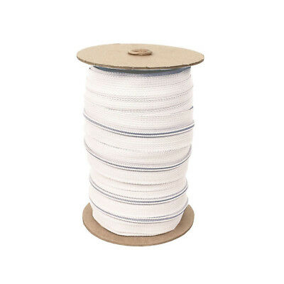 Zippers by the Roll, 215 yards - WHITE, Nylon