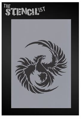 PHOENIX STENCIL REUSABLE Wall Painting Furniture Fabric