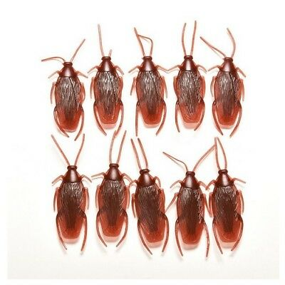 Fake Insects Prank Realistic Cockroach Spiders x 3 UK Stock