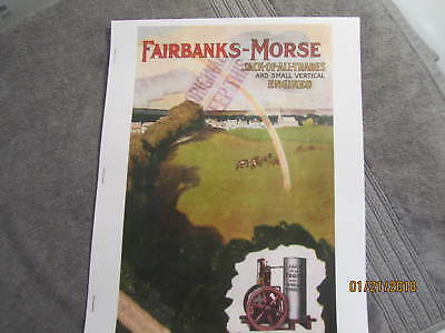 1907 Fairbanks Morse #80C Small Vertical Gas Engine Catalog  Jack of all Trades