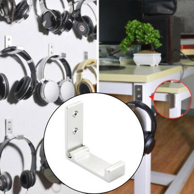 1*Headphone HeadsetWall Mount Hanger For Home Work School Cyber Cafe