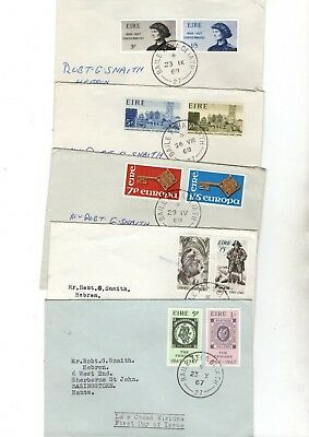 Ireland Various Unchecked  Fdc/covers X10 From Collection Bx1/6