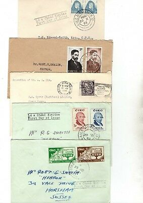 Ireland Various Unchecked  Fdc/covers X10 From Collection Bx1/7