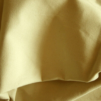 NATURAL CREAM Canvas Fabric Waterproof 12oz 180cm wide! Heavy Duty Outdoor tents