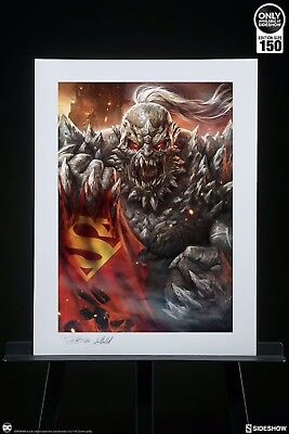 Doomsday Art Print by Sideshow Collectibles UNFRAMED Sold Out