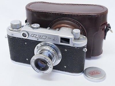 Fed-2 35mm Rangefinder Camera with Collapsible Fed 50mm F3.5. Stock No u8684