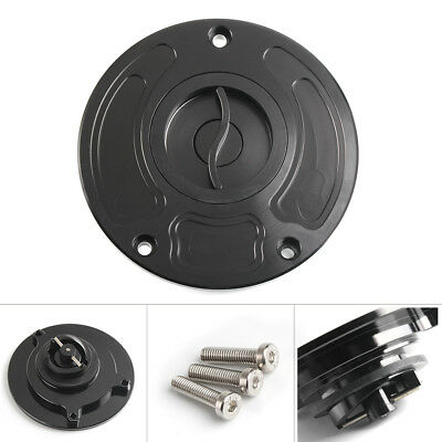 CNC Fuel Tank Gas Petrol Cap Cover For Kawasaki ZX-10R 2004-2005 Z750 2003-2006