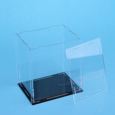 Clear Acrylic Display Case Box 18x14x20cm for Action Figure Toy Collectibles