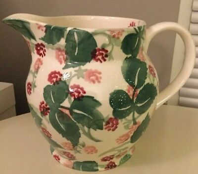 EMMA BRIDGEWATER wiveton RASPBERRY 1.5 pint LARGE jug