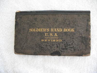 Soldier's Hand Book USA  Revised 1898  2nd Regiment Ohio Volunteer Infantry