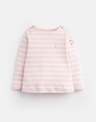 Joules 203977 Harbour Top in ROSE STRIPE