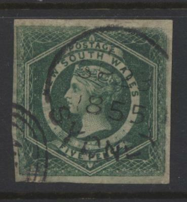 New South Wales Sg.# 26 Used -Repaired