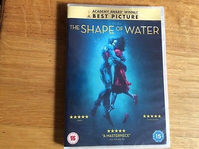 """""""The Shape of Water"""" DVD  New and Factory Sealed. Free post"""
